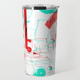Inception Leonardo DiCaprio - Movie Inspired Art Travel Mug