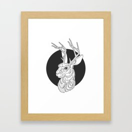The Jackelope Framed Art Print