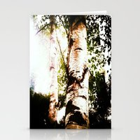 birch Stationery Cards featuring birch by Eva Lesko