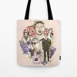 Niall Horan + Flowers Tote Bag