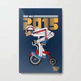 Trike Racer 2015 Metal Print