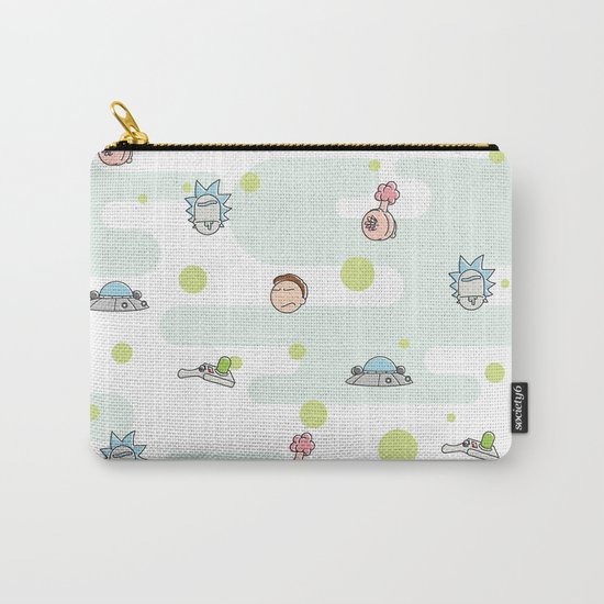 Rictsy Print Carry-All Pouch