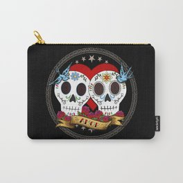 Love Skulls Carry-All Pouch