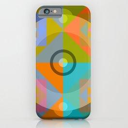Canotila - Colorful Round Shape iPhone Case