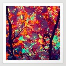 autumn tree X Art Print