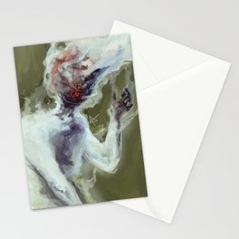 Head on Fire Stationery Cards