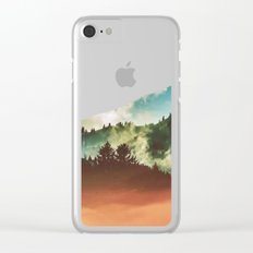 Mighty Mountain #society6 #decor #buyart Clear iPhone Case