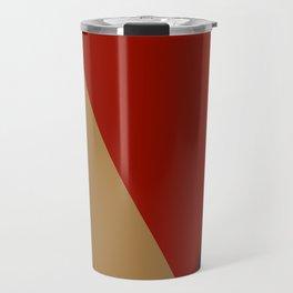 Abstract modern print 3 Travel Mug