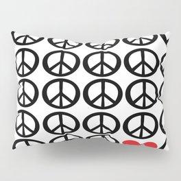 PEACE PEACE ANDLOVE Pillow Sham