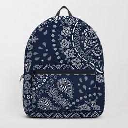 Zendana Navy Bandana Backpack