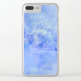 Hometown Celle in blue Clear iPhone Case
