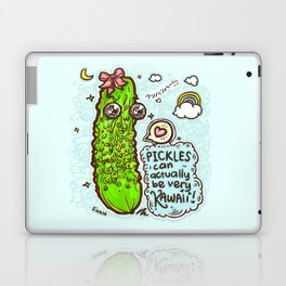Kawaii Pickles! 2 Laptop & iPad Skin