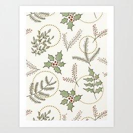 Classic Winter #society6 #xmas Art Print