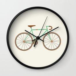 Green Fixie Wall Clock