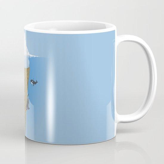 Hidden part of icebergs Coffee Mug