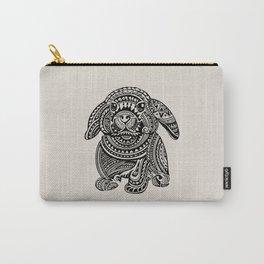 Polynesian Bunny Carry-All Pouch