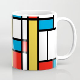 Tribute to Mondrian No2 Coffee Mug