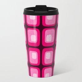60s Mod Squares Travel Mug