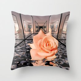 room for a rose -1- Throw Pillow