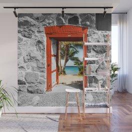 Doorway to Paradise Wall Mural