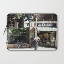 New Orleans Cafe Beignet Laptop Sleeve