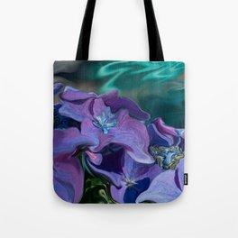 Hydrangeas Up Close Tote Bag