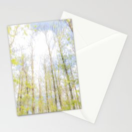 Colorful trees photography - Watercolor series #2 Stationery Cards