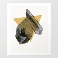 crystals Art Prints featuring crystals by morgan kendall