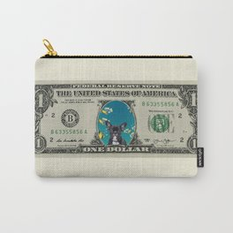 One Dollar note animal French Bulldog fishes Carry-All Pouch