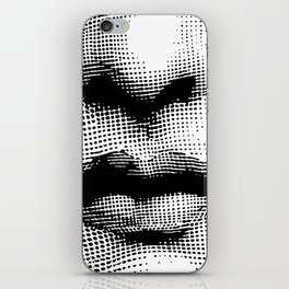 Lina Cavalieri - nose and mouth iPhone Skin