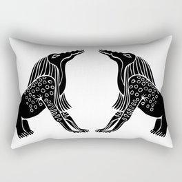 Demon Of Ancient Egypt - Bone Eater Rectangular Pillow