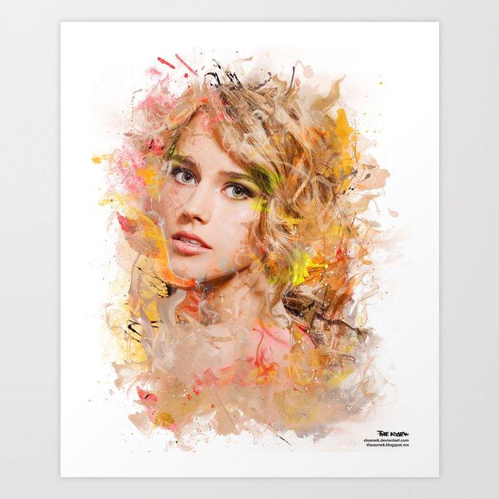 Blondfire Art Print