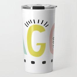 Lagom colors Travel Mug