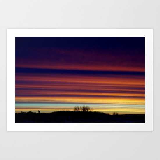 Looming, Weaving, Jupiter (001) Art Print