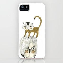Cat Head iPhone Case