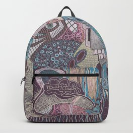 howdy cloudy Backpack