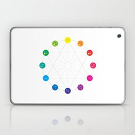 Simple Color Wheel Laptop & iPad Skin