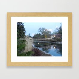 Victoria Park at dusk - Kitchener, ONT Framed Art Print
