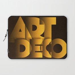 Art Deco Exhibition Poster Laptop Sleeve