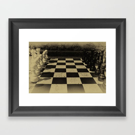 Checkmate! Framed Art Print
