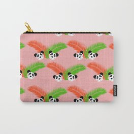 Retro Panda Party Carry-All Pouch