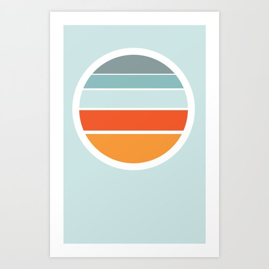 Sunrise Sunset Art Print