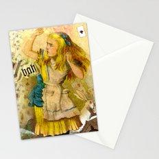 alice annoyed Stationery Cards