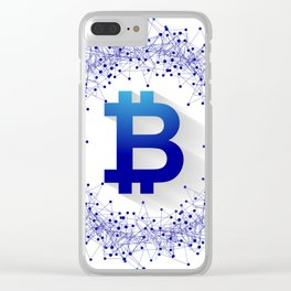 Bitcoin 5 Clear iPhone Case