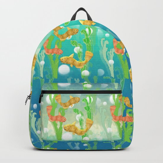Toy Catfish Under the Sea Backpack