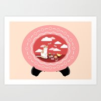 Desserts & Pastry Dreams Art Print