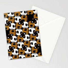 Brown supports Black Lives Matter Stationery Cards