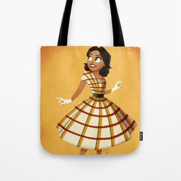 Girl of the Frontier Tote Bag