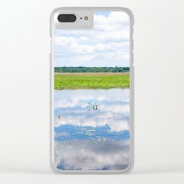 Florida Beauty 2 Clear iPhone Case