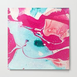 Abstract candy Metal Print